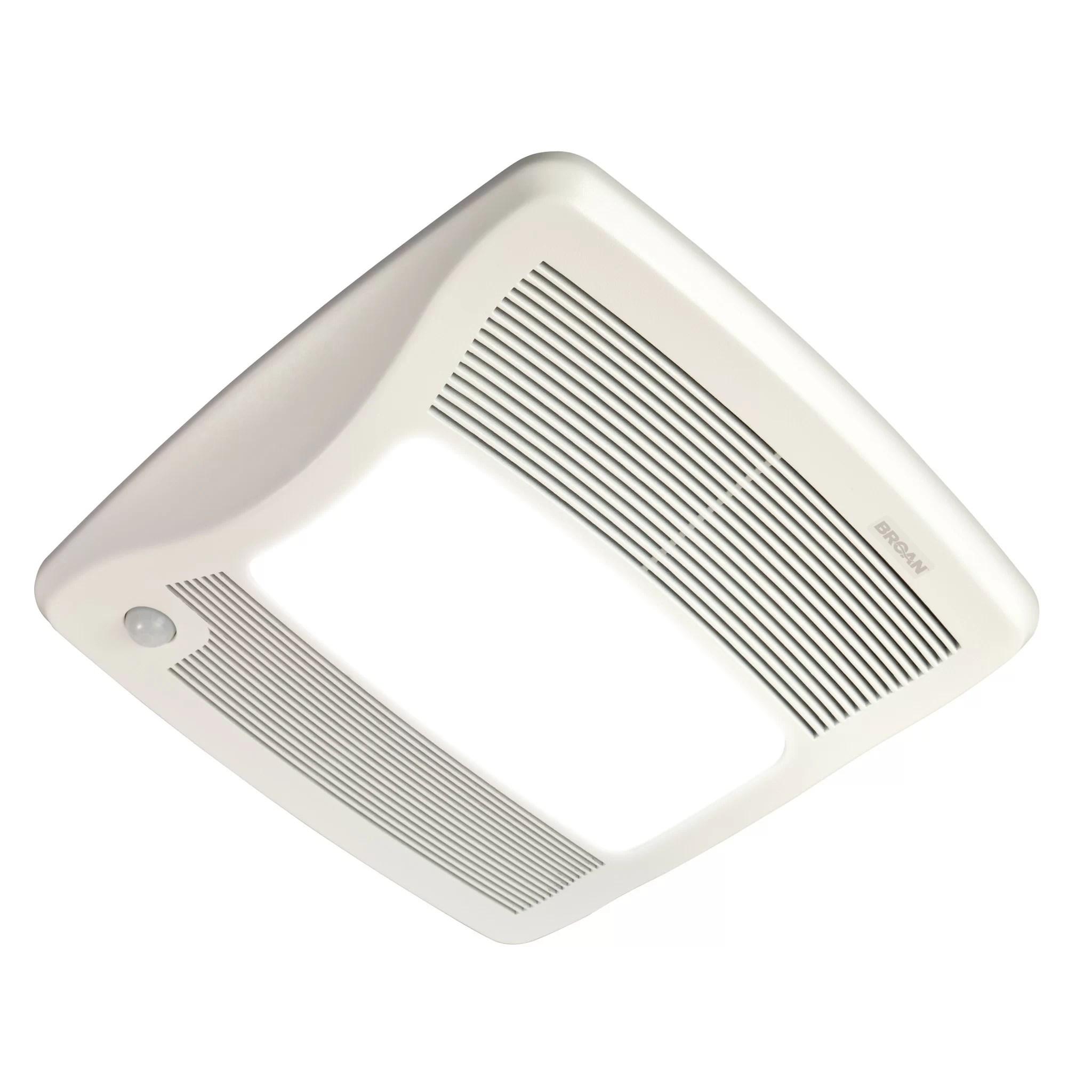 Broan Ultra Series 110 CFM Energy Star Bathroom Fan with Light  Wayfair