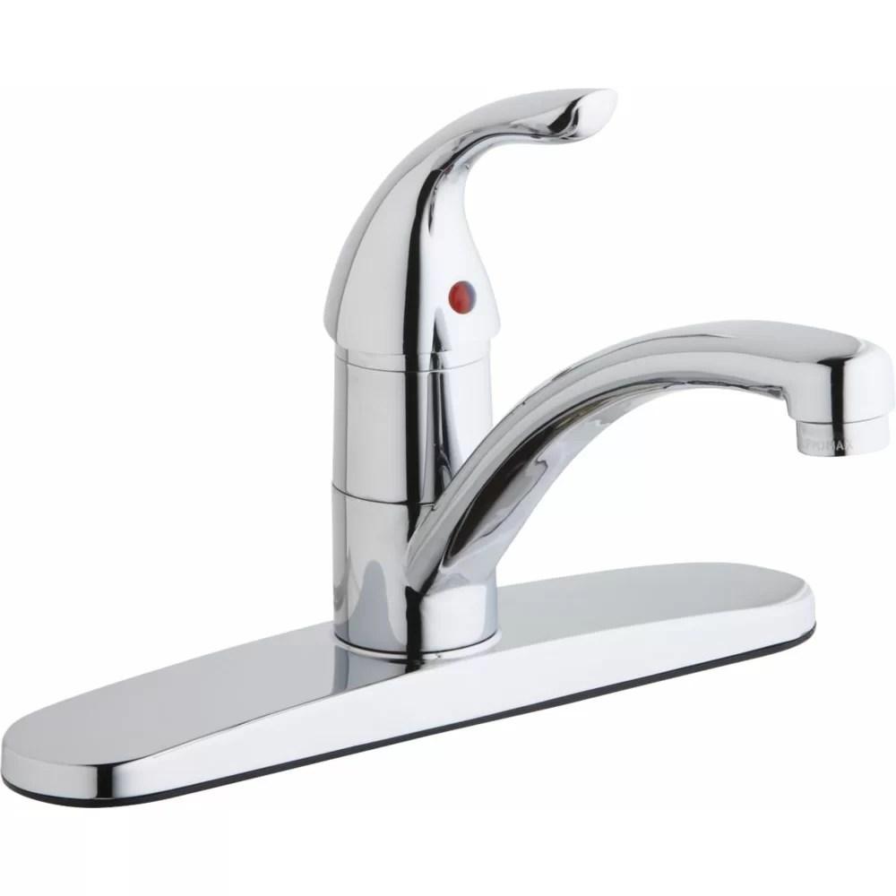 Elkay Single Handle Deck Mount Kitchen Faucet  Wayfair