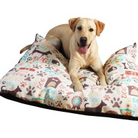 Checkerboard Personalized Modern Dog Bed & Reviews | Wayfair