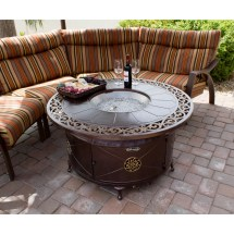 Az Patio Heaters Cast Aluminum Fire Pit &