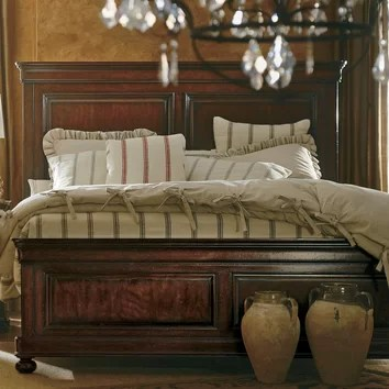 Stanley The Classic Portfolio Louis Philippe Panel Bed