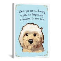Tiny Confessions Dancing Goldendoodle by Christopher Rozzi ...