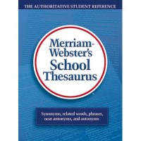 Merriam Websters School Thesaurus Book | Wayfair