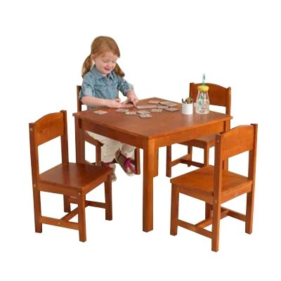 KidKraft Farmhouse Kids 5 Piece Table Amp Chair Set