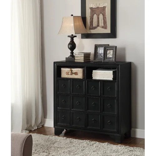 Coast to Coast Imports 2 Door and 1 Drawer Media Cabinet