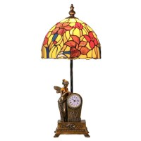 River of Goods Fairy Blossoms Tiffany Style Stained Glass ...