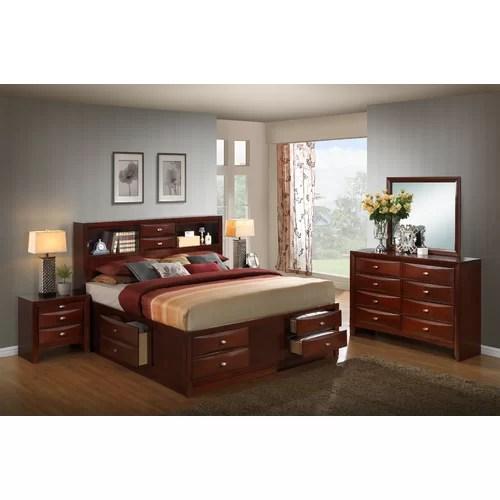 Emily Storage 5 Piece Bedroom Set  Wayfair