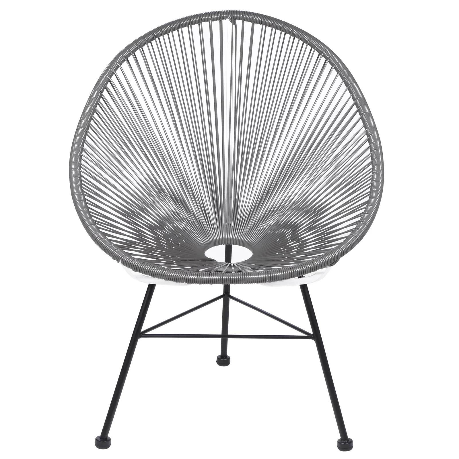 Acapulco Lounge Chair Polivaz Acapulco Wire Basket Lounge Chair Indoor Outdoor
