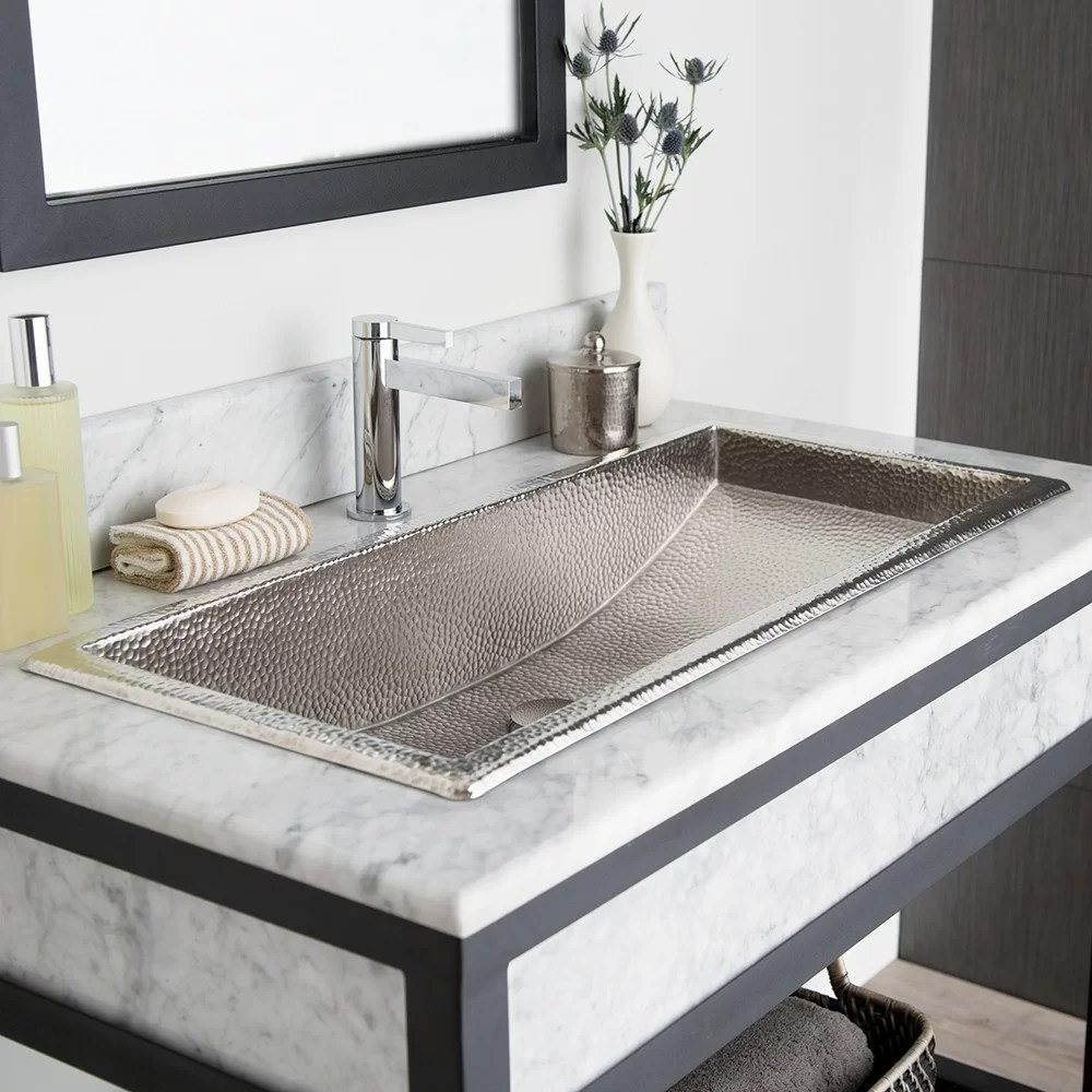 Trough 36 Bathroom Sink  Wayfair