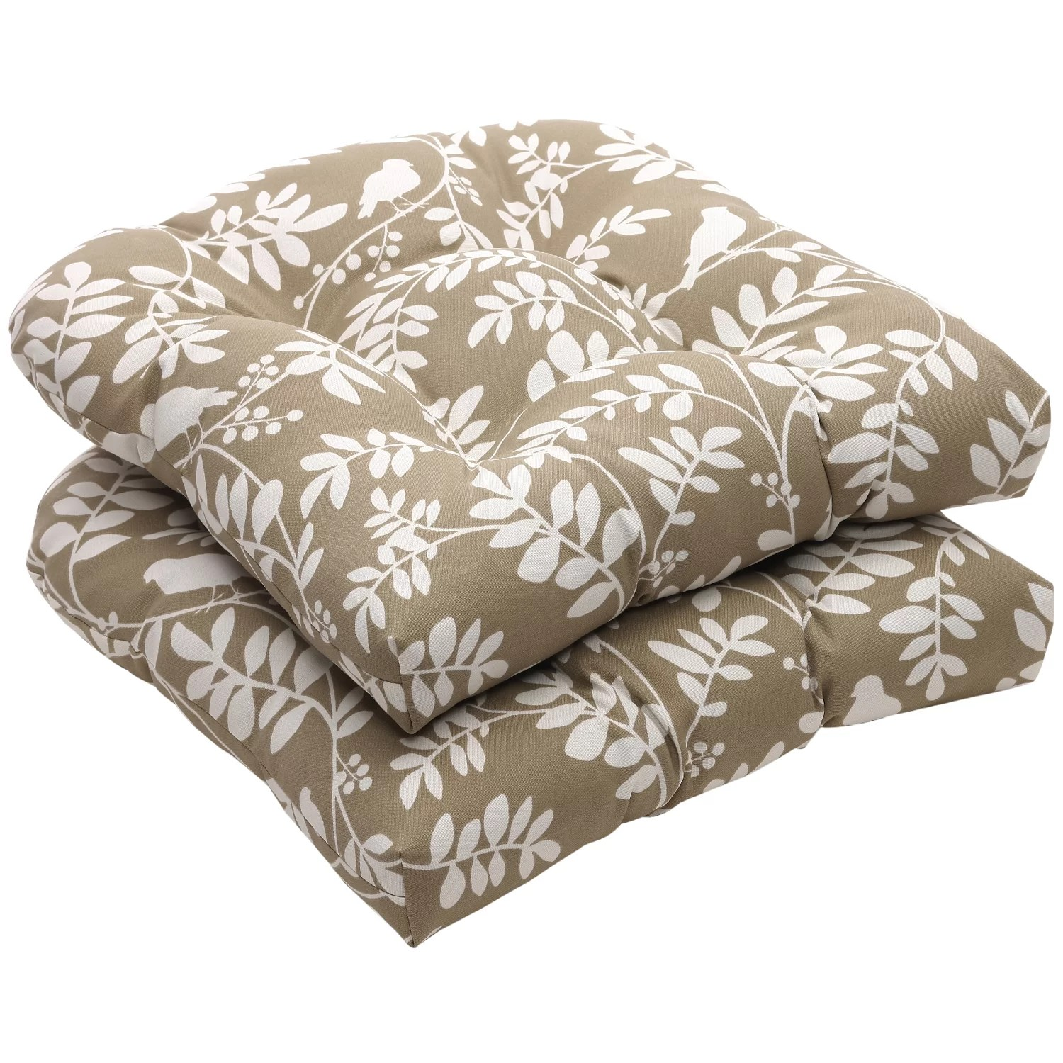 seat cushions for wicker chairs pottery barn dinning charlton home outdoor chair cushion and reviews wayfair