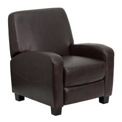 Office Chair Club Reviews Vintage Ekornes Stressless Flash Furniture Brown Push Back Recliner And