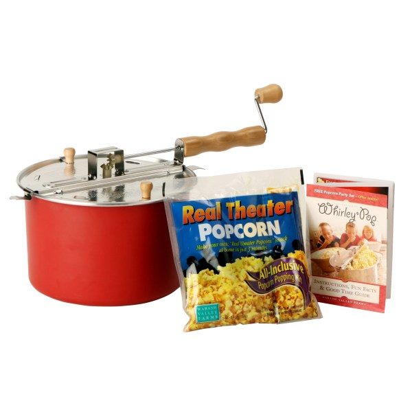 Wabash Valley Farms Whirley Pop Stovetop Popcorn Popper &