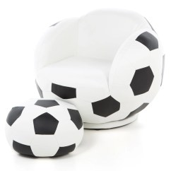 Inflatable Soccer Ball Chair High Cover John Lewis Wildon Home  Kid 39s And Ottoman