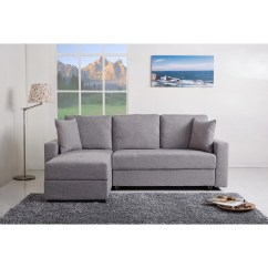 Aspen Convertible Sectional Storage Sofa Bed Pure Bliss Quilted Throw Gold Sparrow Reversible Chaise And Reviews