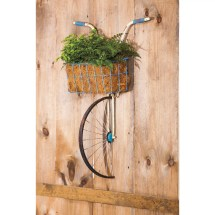 Evergreen Enterprises Front Basket Metal Bicycle And