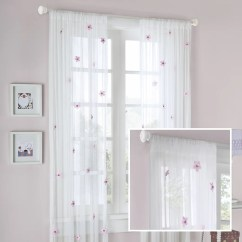 Chair Covers And Linens In Madison Heights Mi How To Make Cheap For A Wedding Zone Lily Allover Rod Pocket Flower Single Curtain