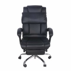 Office Chair Footrest W H Gunlocke Merax High Back Leather Executive With