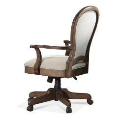Chair With Desk Arm Pool Room Chairs Riverside Furniture Belmeade Round Back