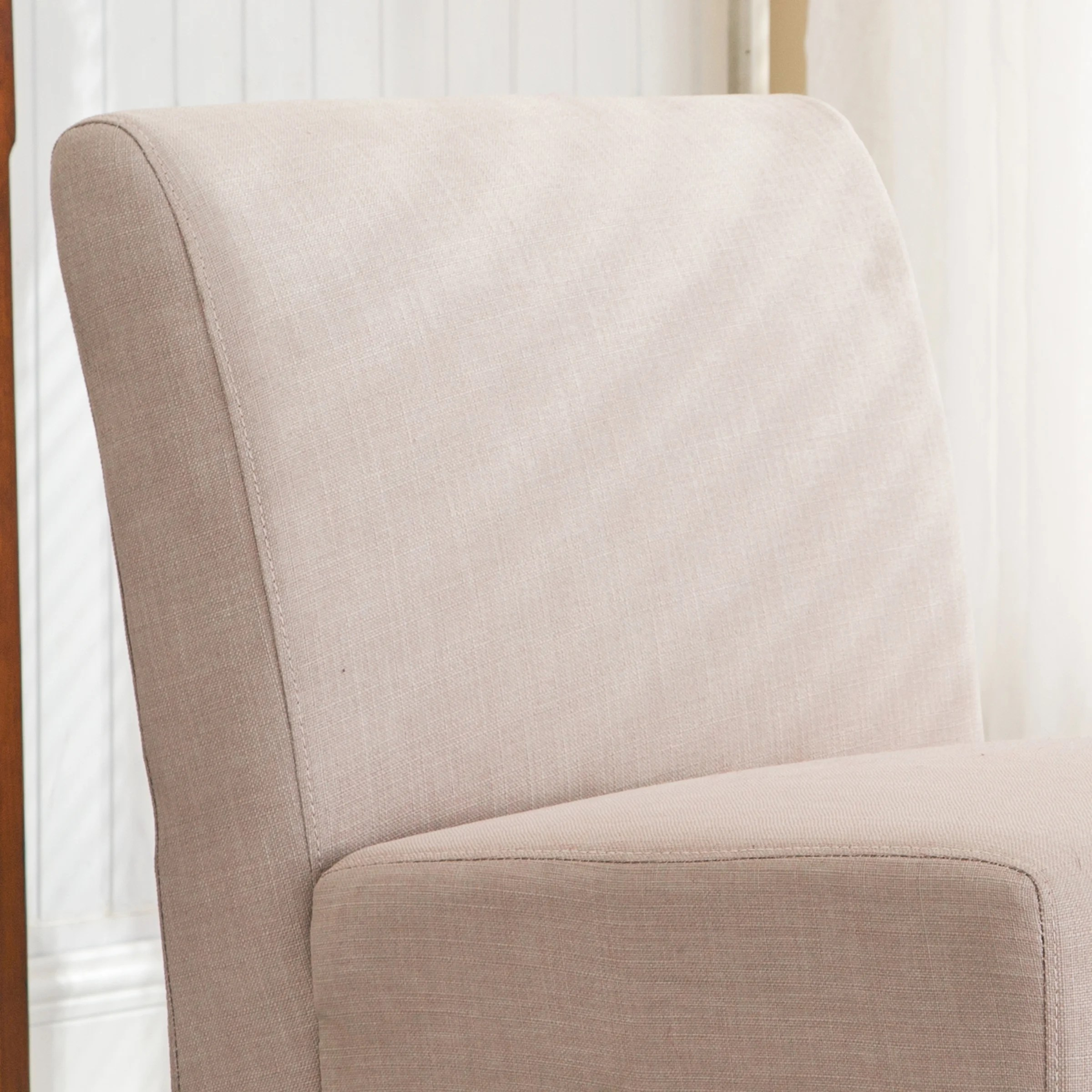 slipcover for armless slipper chair room chairs ac pacific and reviews wayfair