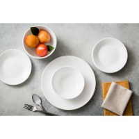Corelle Livingware Winter Frost 76 Piece Dinnerware Set ...