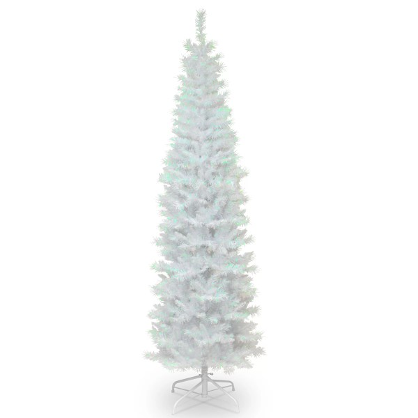 National Tree Co 78quot White Artificial Christmas Tree