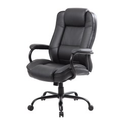 Office Chair Arm Covers Depot Gray Banquet Boss Products High Back Executive With Arms