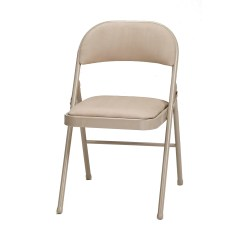 Cloth Padded Folding Chairs Eaton Mid Back Chair Meco Deluxe Fabric And Reviews Wayfair
