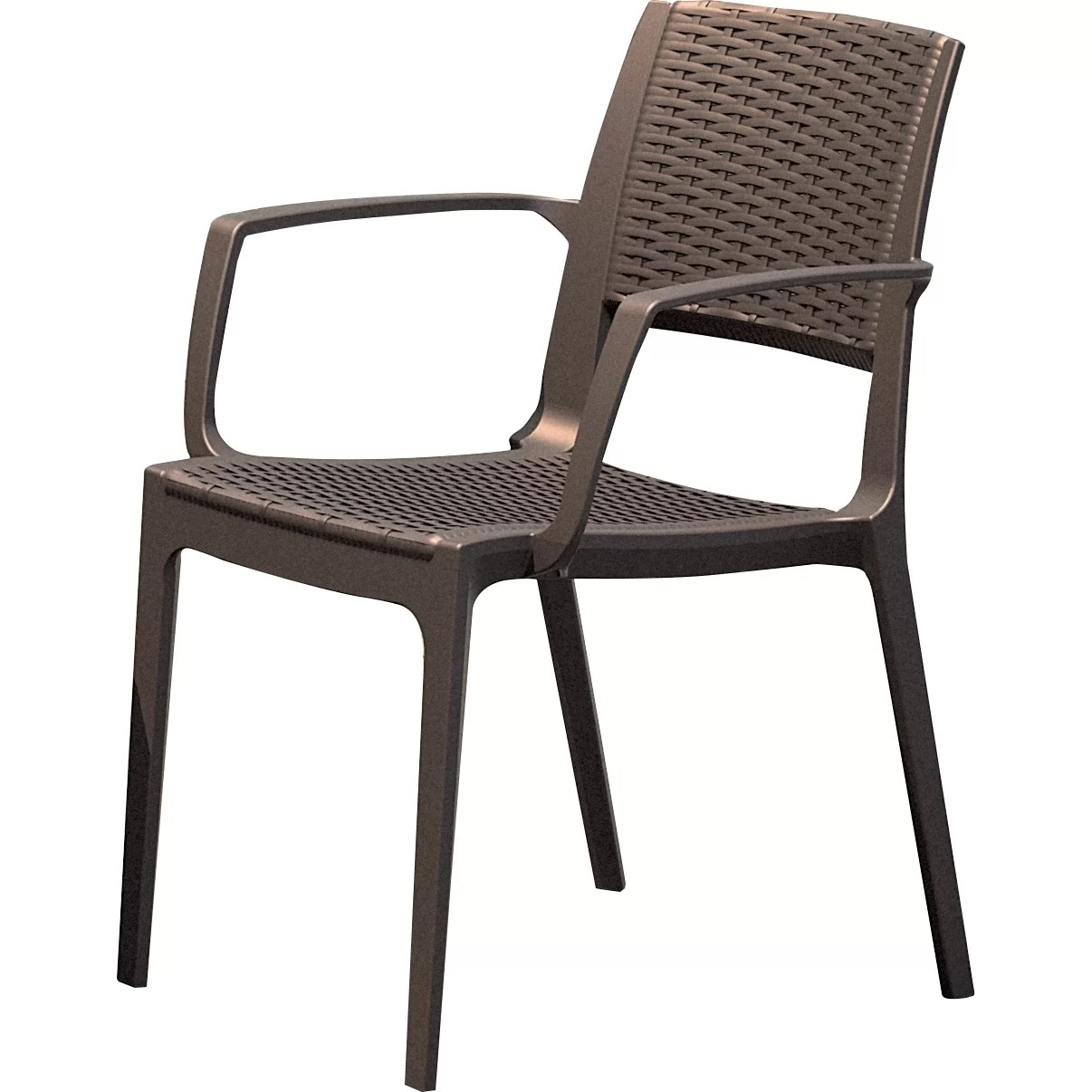 Stacking Dining Chairs Capri Stacking Dining Arm Chair Wayfair