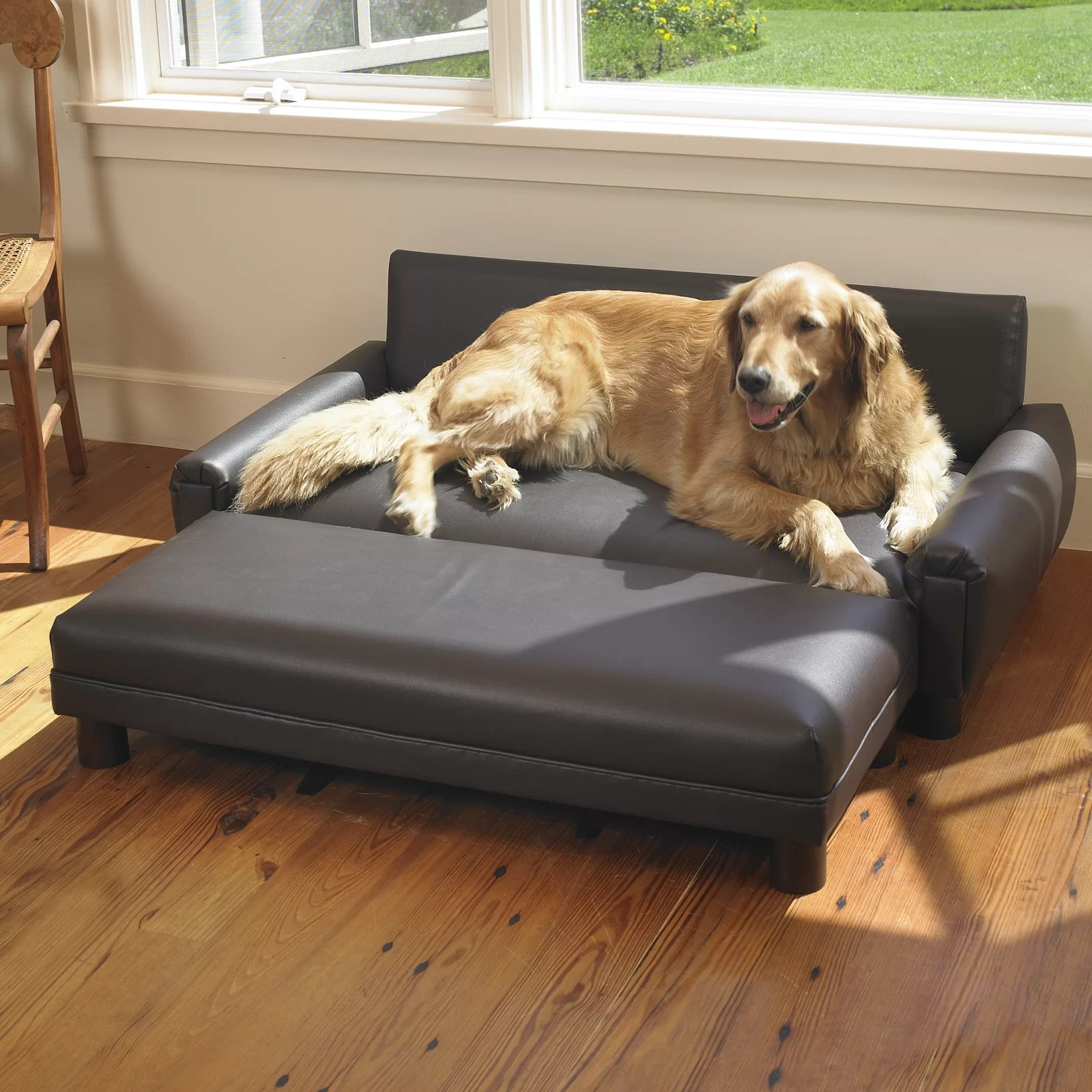 best leather sofas for dogs corner sofa outdoor covers mission hills faux dog and reviews wayfair