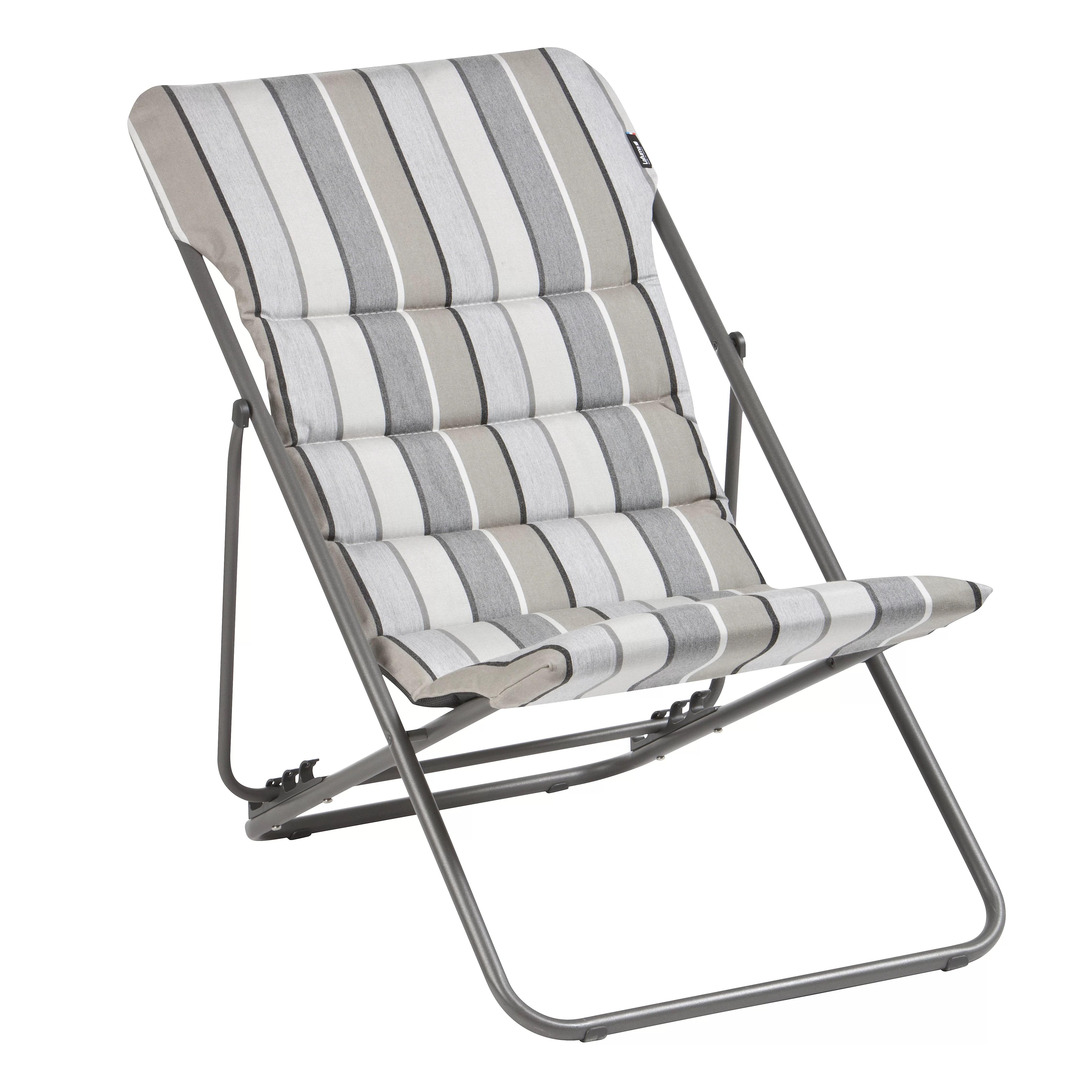 folding sling chair canada wicker patio with hidden ottoman maxi transat wayfair