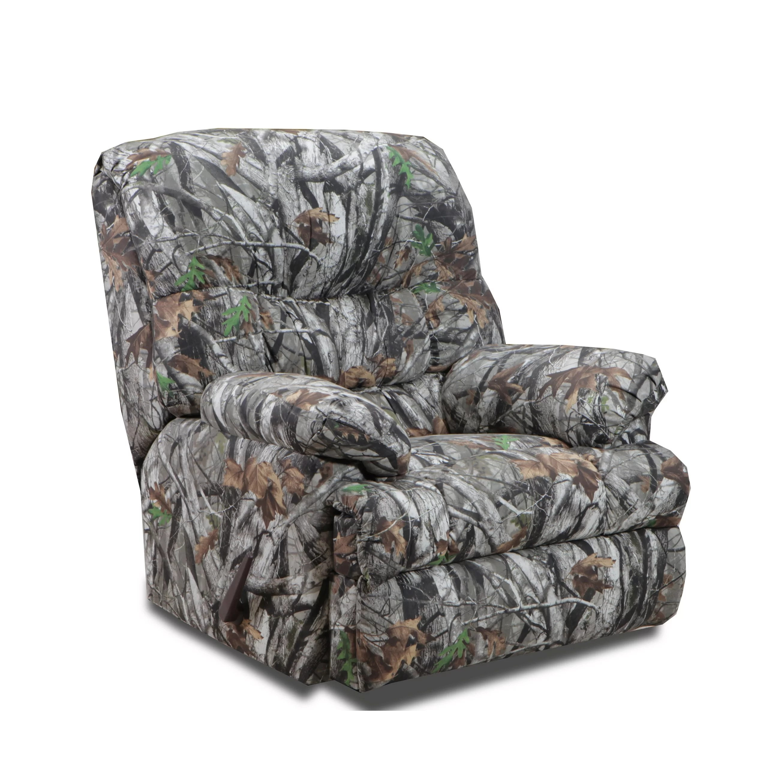 Camo Recliner Chair Chelsea Home Camo Recliner And Reviews Wayfair