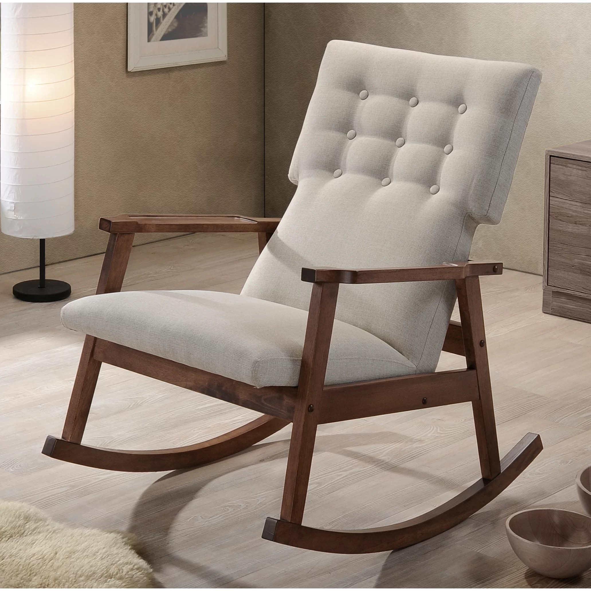 Baxton Chair Wholesale Interiors Baxton Studio Rocking Chair And Reviews