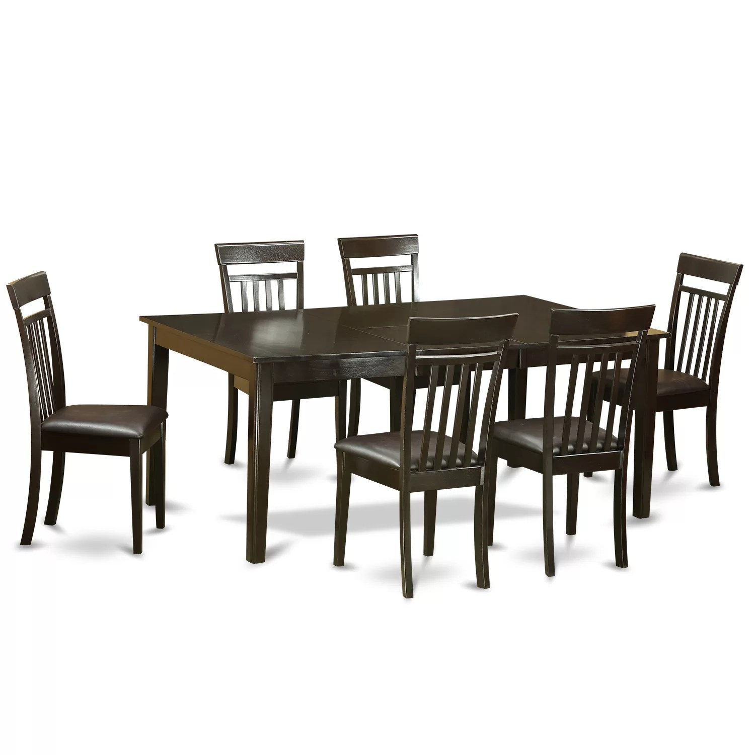 Formal Dining Room Chairs Henley 7 Piece Dining Set Wayfair