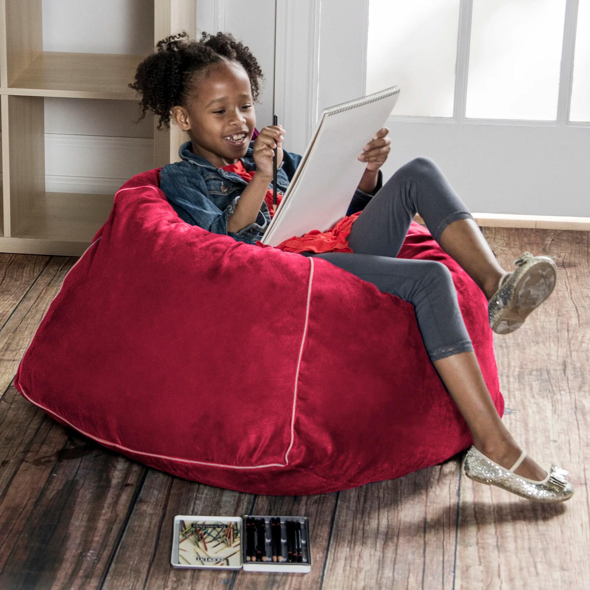 jaxx bean bag chairs global furniture task office chair reviews 2 5 39 kids club and wayfair