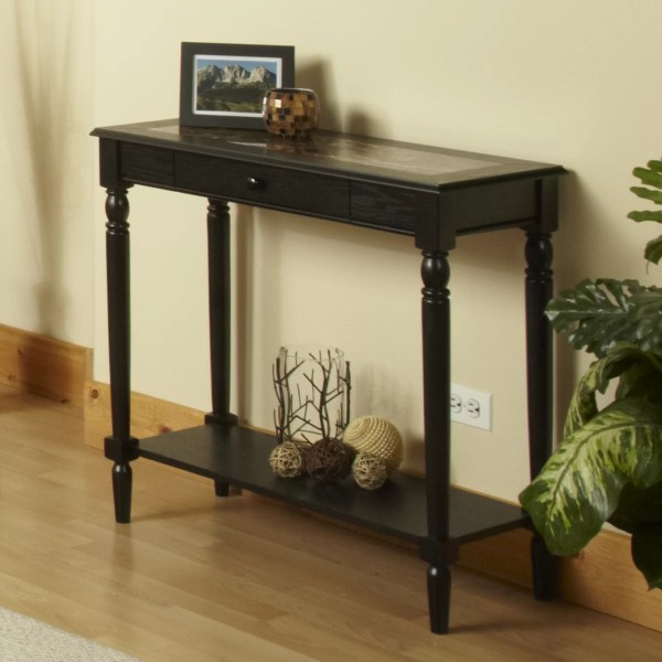 Convenience Concepts French Country Console Table &