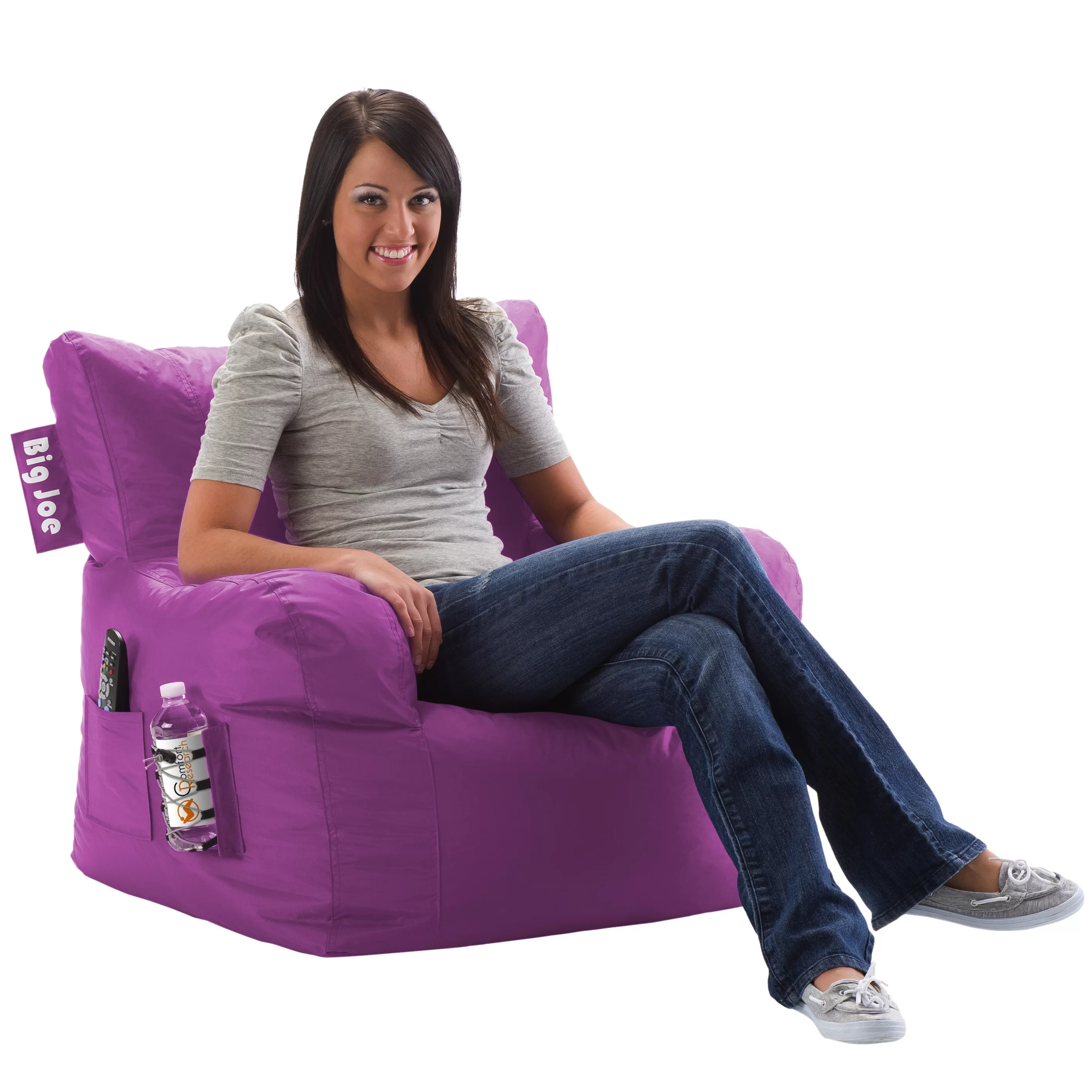 big joe bean bag chair pink costco chairs outdoor comfort research and reviews wayfair