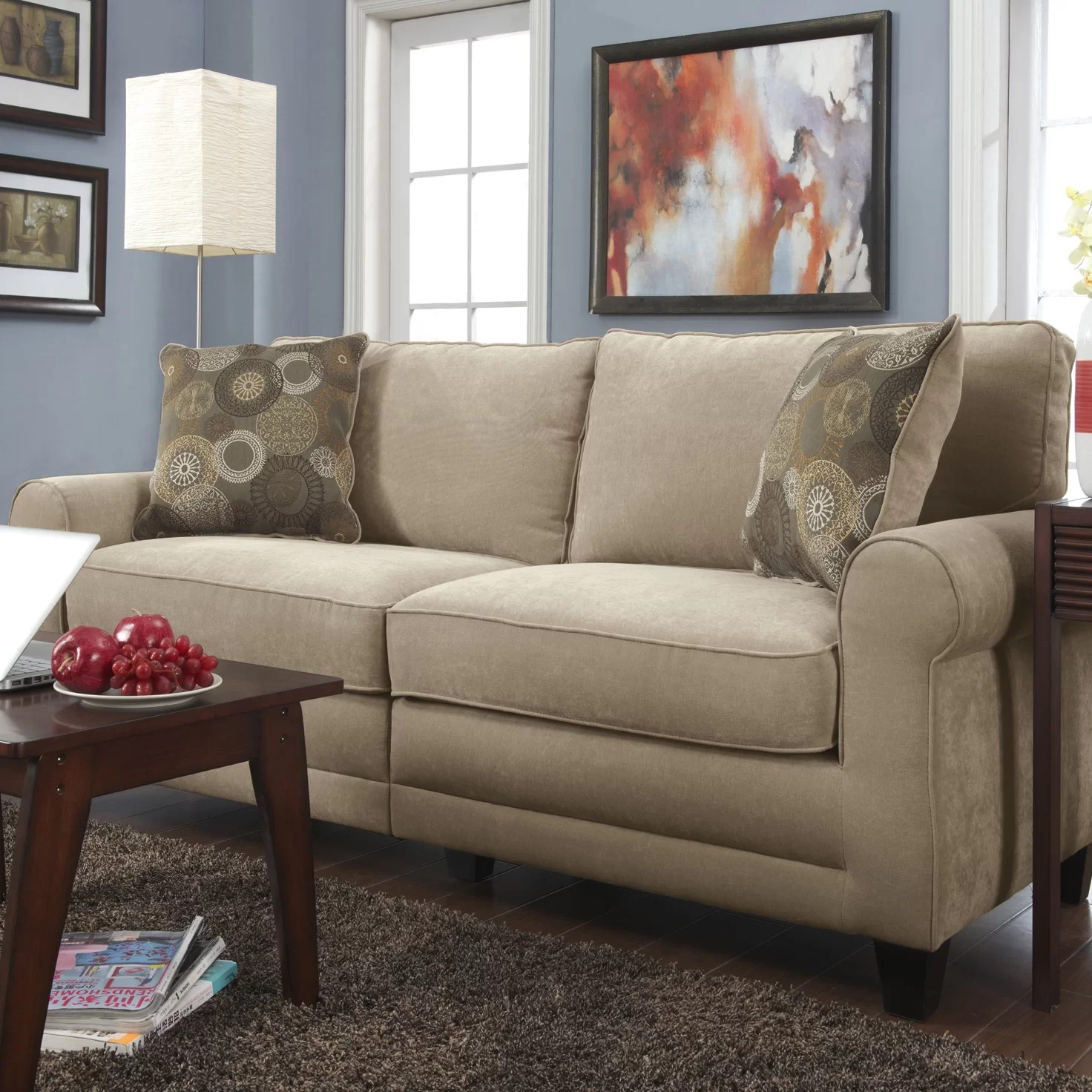 Serta at Home RTA Copenhagen Loveseat  Reviews  Wayfair