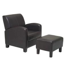 Office Chair Qvc Shiatsu Massage Osp Designs Metro Collection Ottoman And Reviews