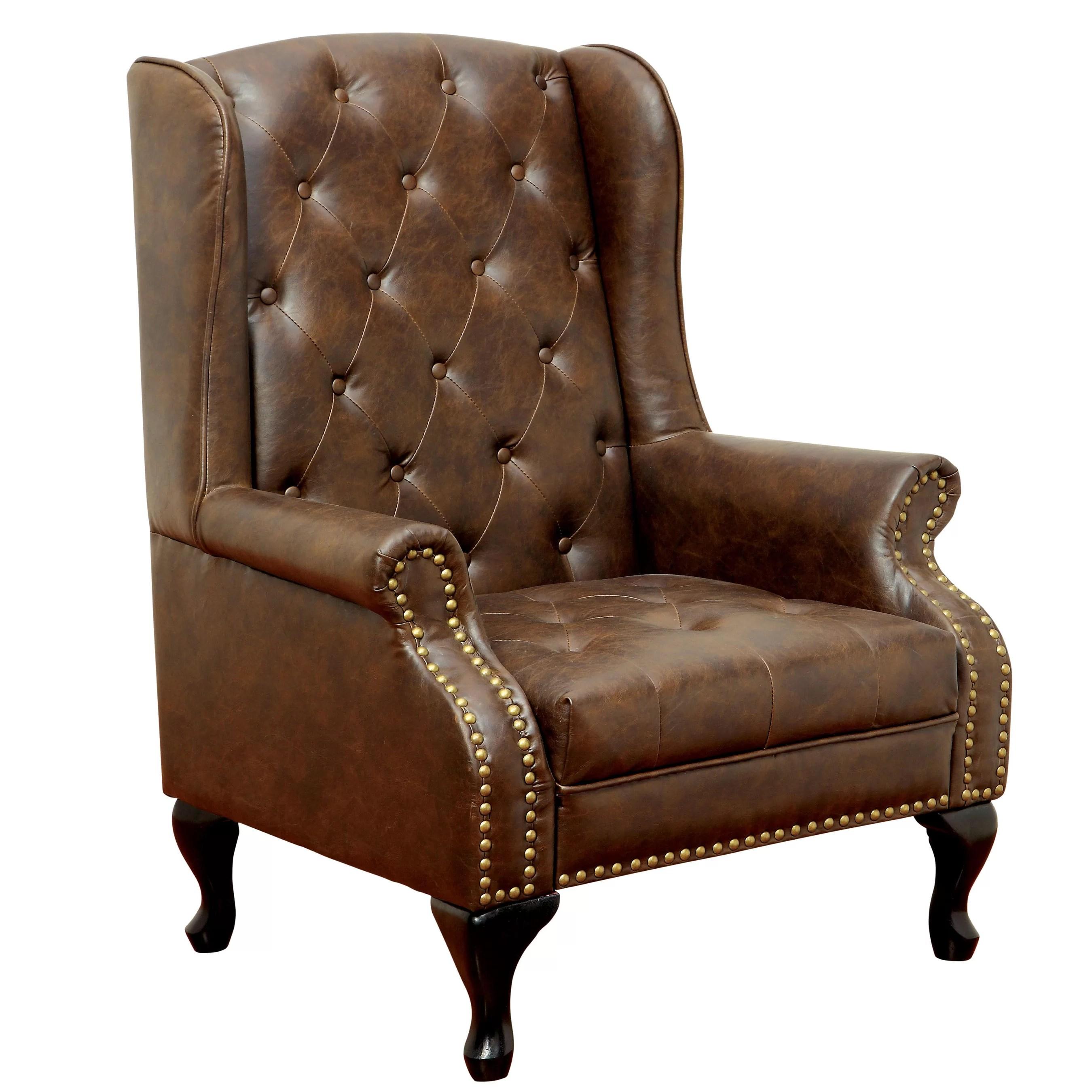 Hokku Designs Barnett Wingback Chair  Reviews  Wayfair