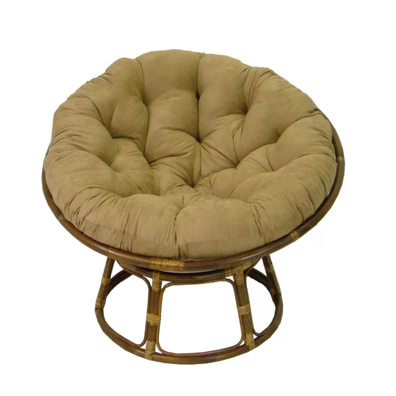 replacement papasan chair cushion cheap chairs for church blazing needles lounge and reviews