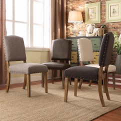 Pompon Nailhead Side Chair Eames Executive Replica Lark Manor & Reviews | Wayfair