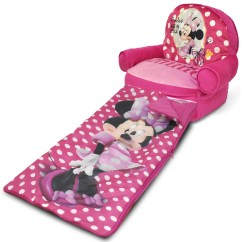 Walmart Minnie Mouse Chair Wicker Fan Back Chairs Kids Bean Bag Arm With Bonus Sleeping