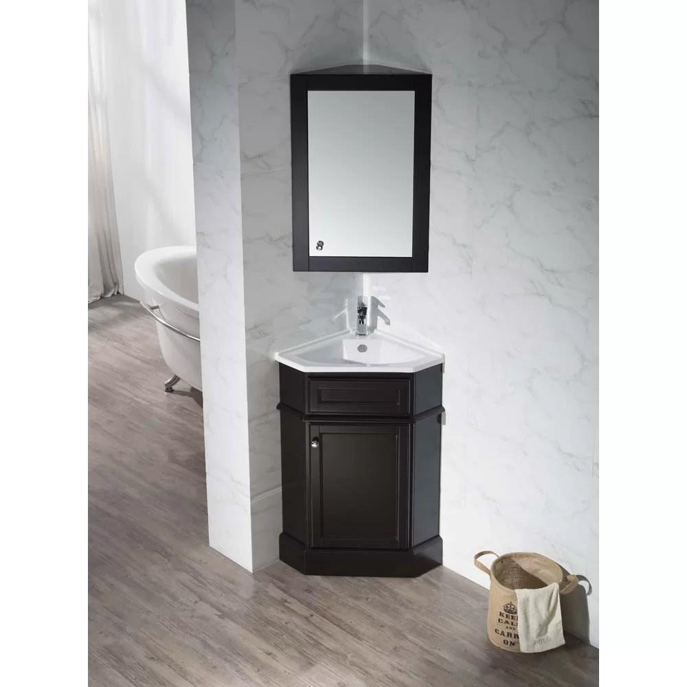 Home Loft Concepts 265 Single Corner Bathroom Vanity Set