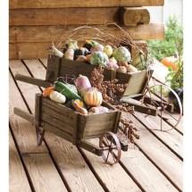 Plow & Hearth Novelty Wheelbarrow Planter