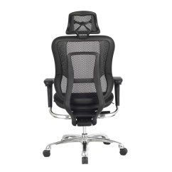 Office Chair With Adjustable Arms Desk Or Stool High Back Mesh Task Headrest