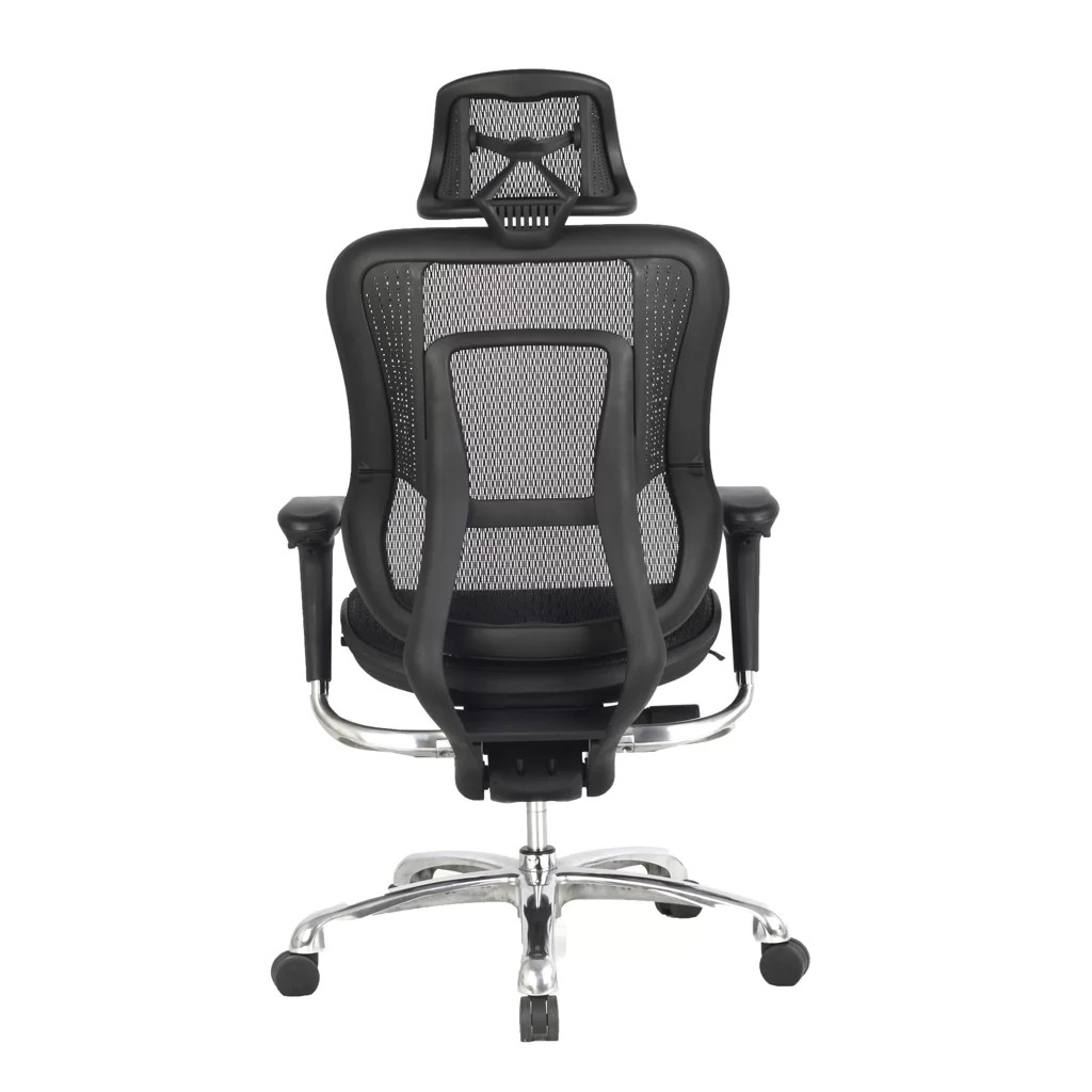 Office Chair With Arms High Back Mesh Task Chair With Adjustable Arms Headrest