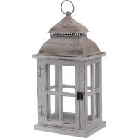 Boston International Rustic Wooden Outdoor Hanging Lantern ...