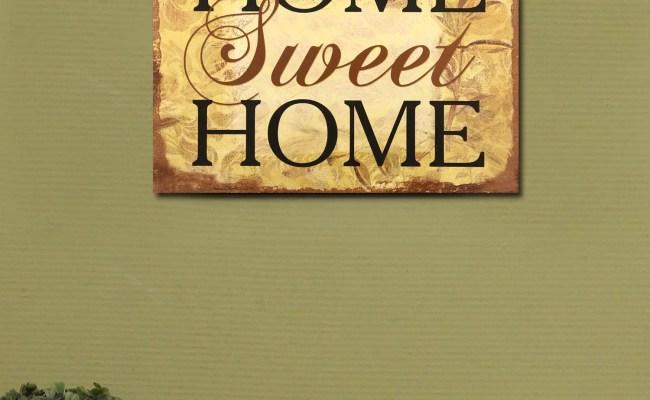 Adecotrading Home Sweet Home Wall Decor Reviews Wayfair