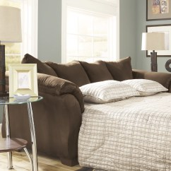 Ashley Harvest Sleeper Sofa Manhattan Leather Sectional Alcott Hill Huntsville Full And Reviews Wayfair