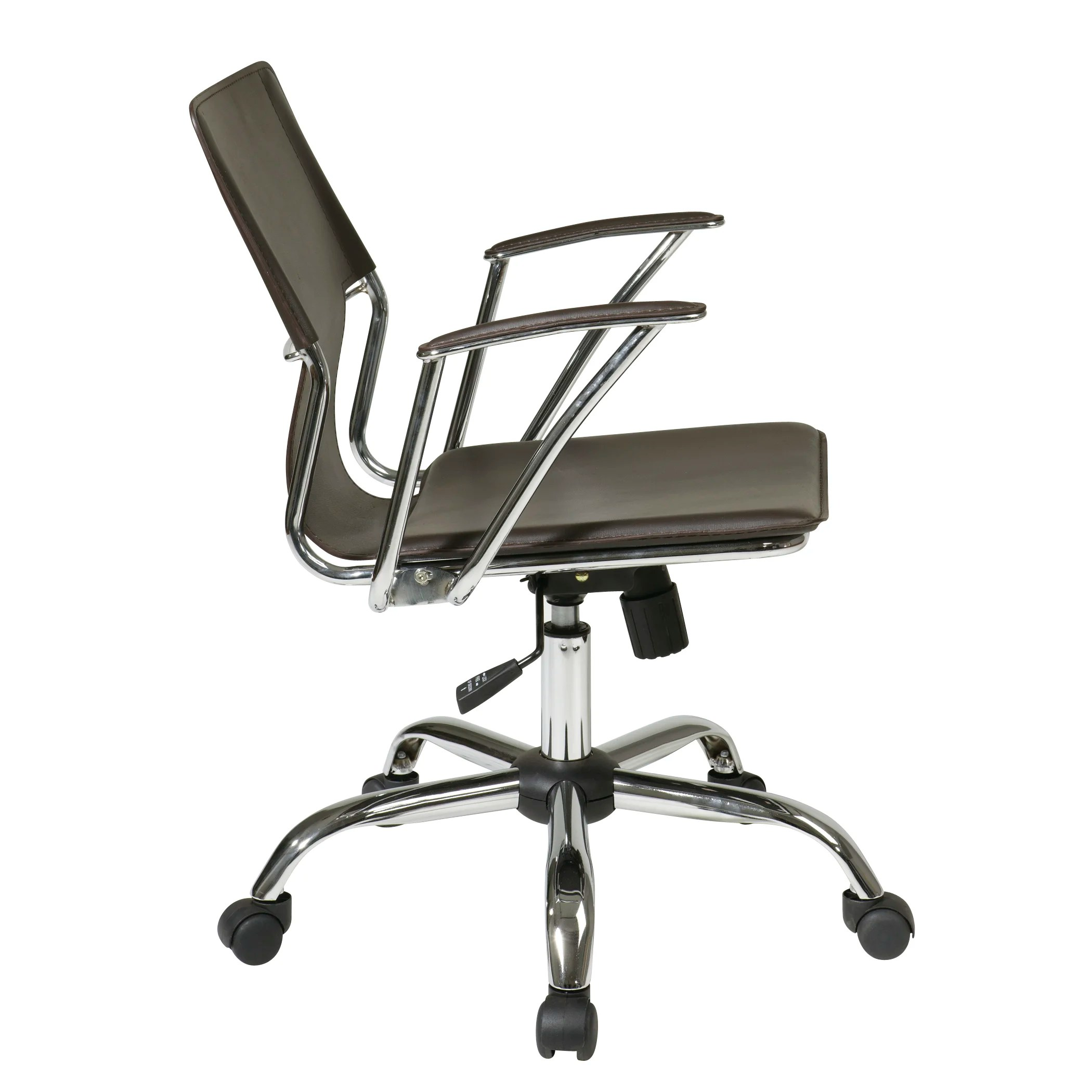 dorado office chair wooden rocking chairs varick gallery arlingham mid back and reviews